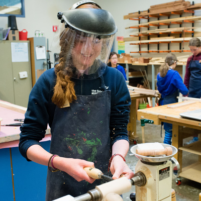 Woodworking The Girls Middle School